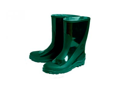 Rubber boots for men green