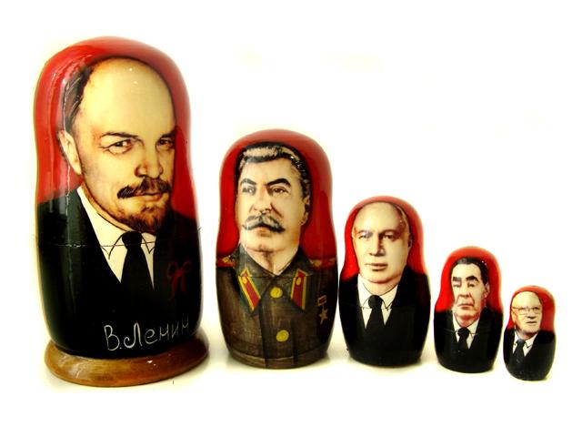 Matrjoschka - die Sowjetischen Führer
