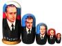 Matrjoschka - Präsidenten