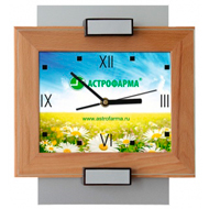 wall clock with Your logo