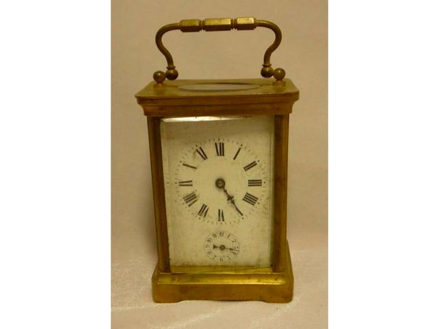Часы каретные. Бронза. ХIХ век.