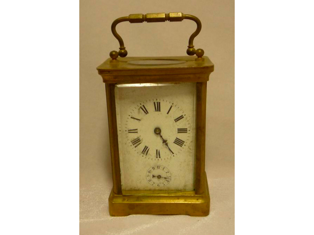 El reloj de cuatro ruedas. Las medallas. El siglo XIX.
